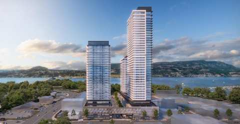 Rendering Of 3 Towers In Kelowna - Water Street By The Park