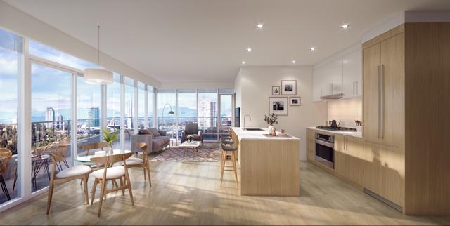 Rendering Of Belvedere Interiors & Living Area