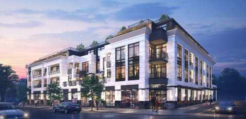 Rendering Of Raphael 4-storey Condo Building