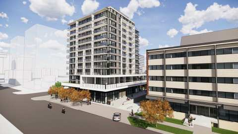 Photo Of New Development In Victoria - Nest