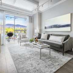 Rendering of Park W29 Living Room
