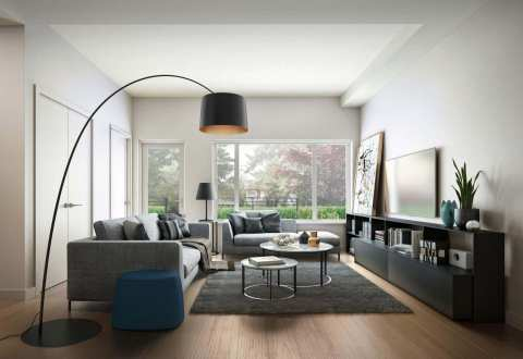 Rendering Of The Trails Living Room