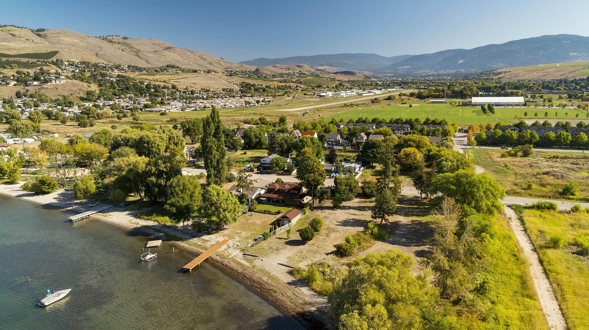 Rendering Of Vita Site Aerial View Vernon BC