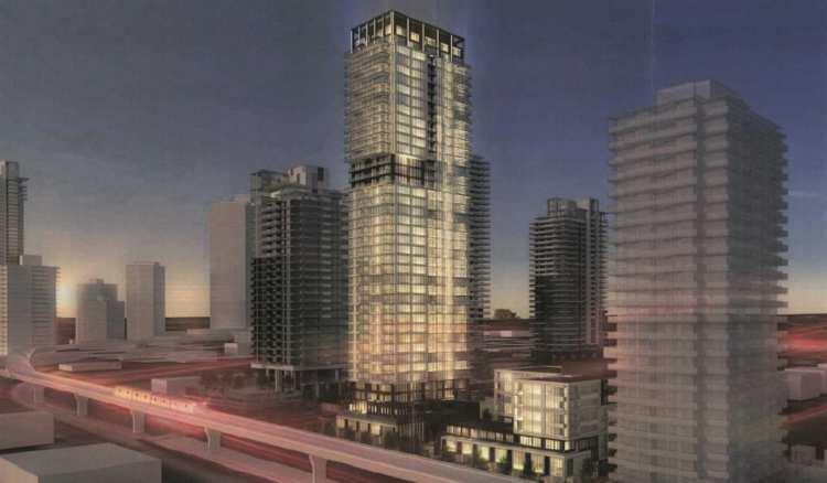 Photo of Vue Condos high-rise design