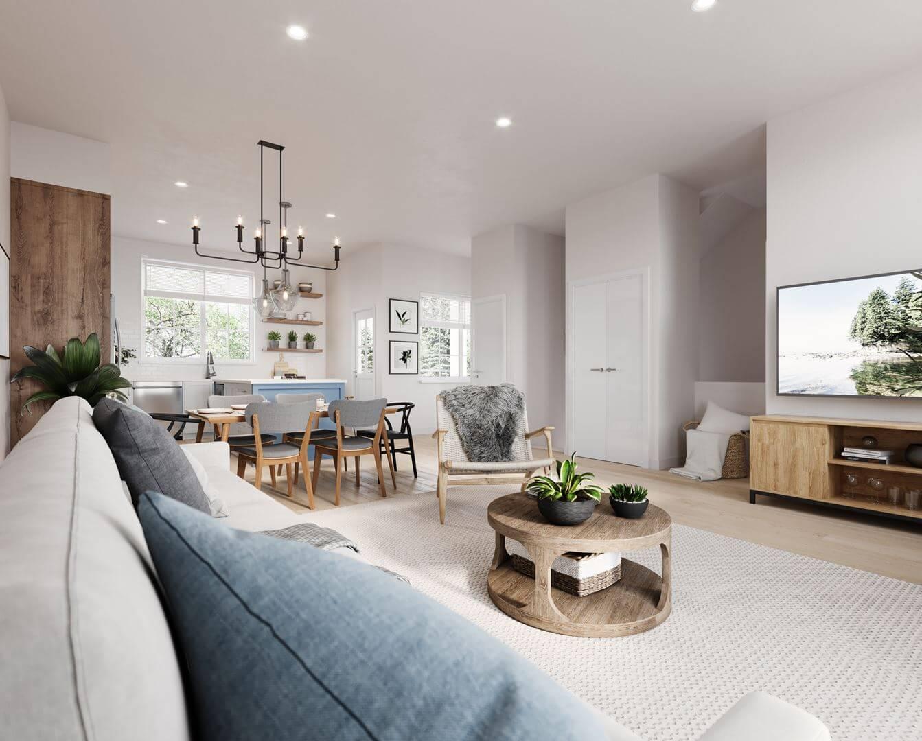 Rendering Of Skylark Living Room