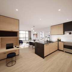 Rendering of Ava Kitchen
