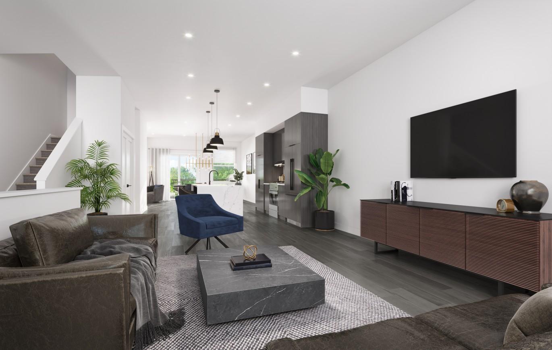 Rendering Of Lennox Living Room