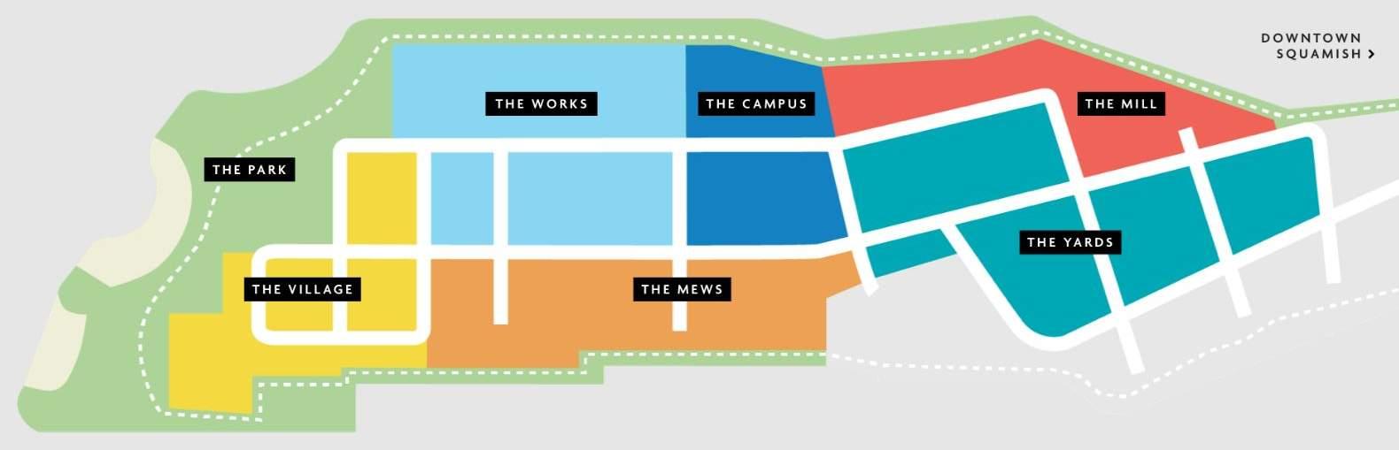 Oceanfront Squamish Site Plan map