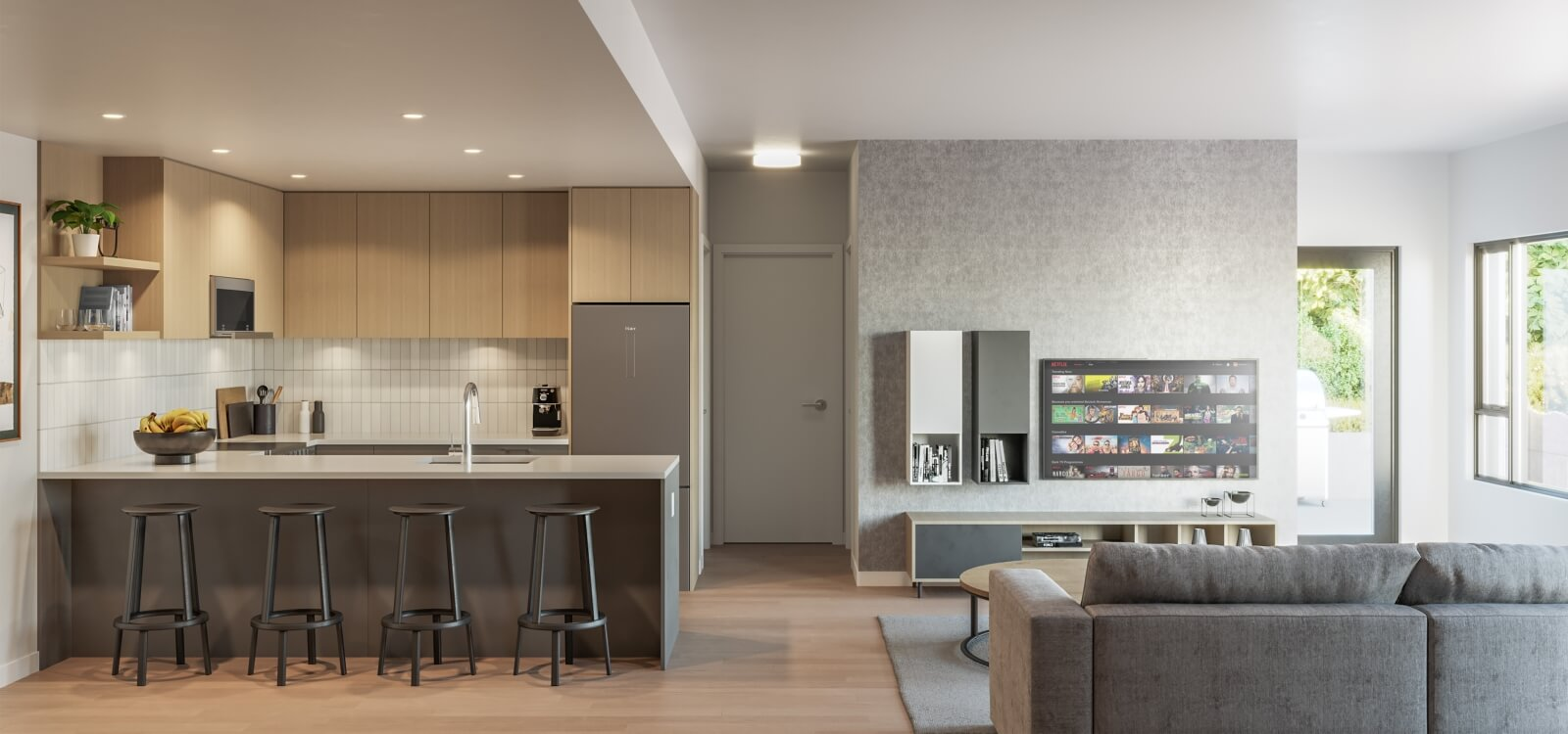Rendering Of Q5 Living Area