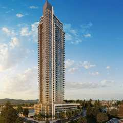 Rendering of The Grand high rise on King George