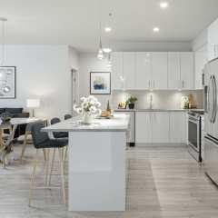 Rendering of The Jericho Living Area in Langley