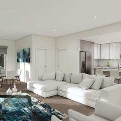 Rendering of The Murray Living Room