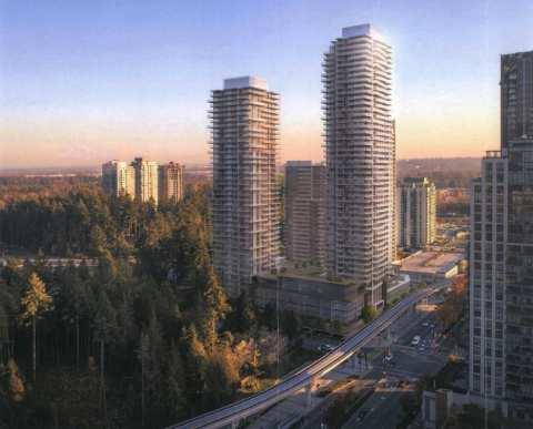 Rendering Of Pine & Glen Towers In Coquitlam