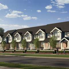 Rendering of Bell Green Park Townhomes
