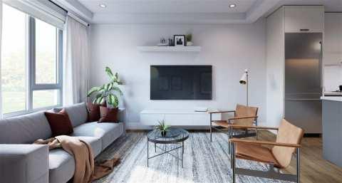 Rendering Of Modus Living Room