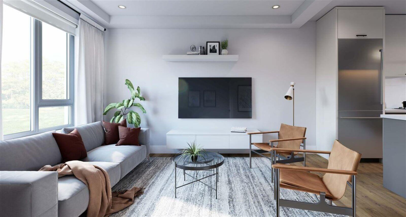 Rendering Of Modus Living Room