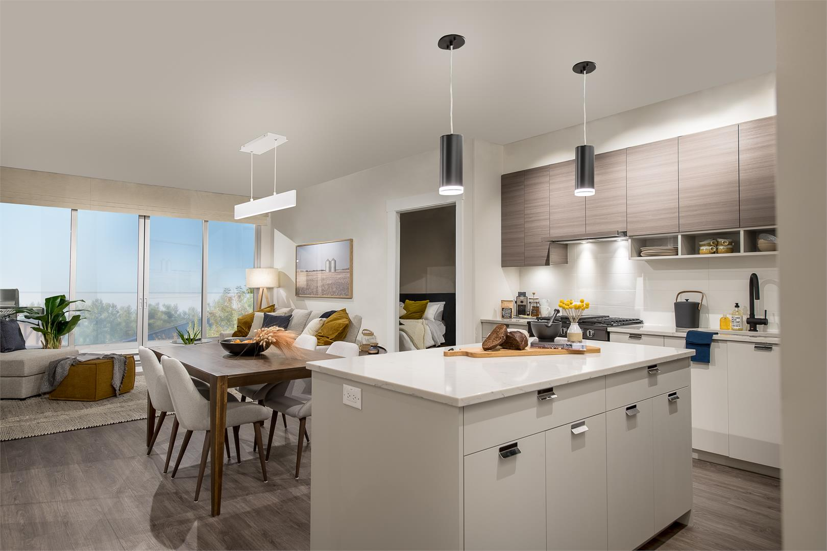 The Residences At Wtc Living Area
