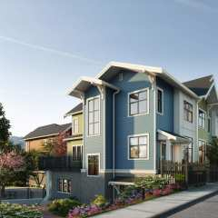 Rendering of Will Townhomes