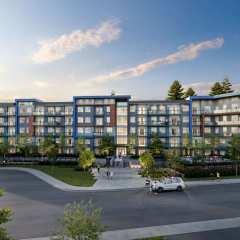 Rendering of Ezekiel 5-storey condo development in Langley