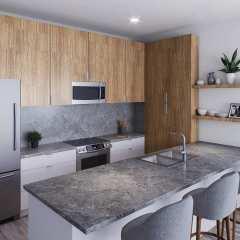 Rendering of The Ridge Kitchen