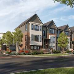 Rendering of Acadia townhomes in Chilliwack