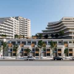 Rendering of Movala development
