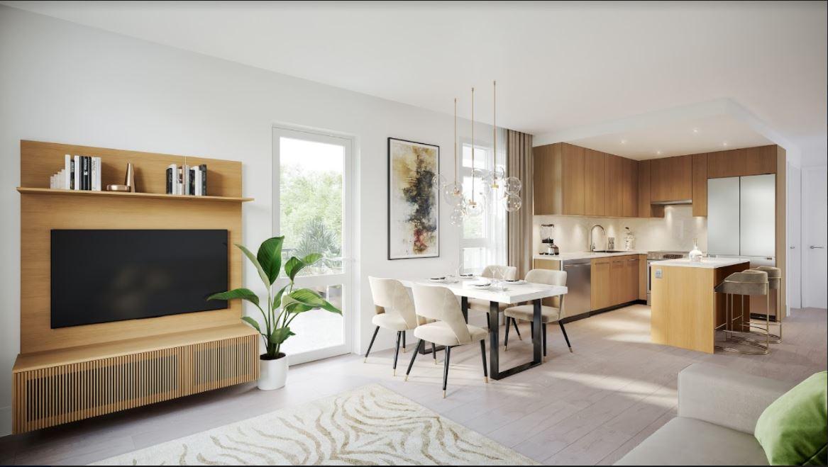 Rendering Of Oak And Onyx Living Room