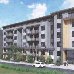 Rendering of Quinn condo development in Surrey