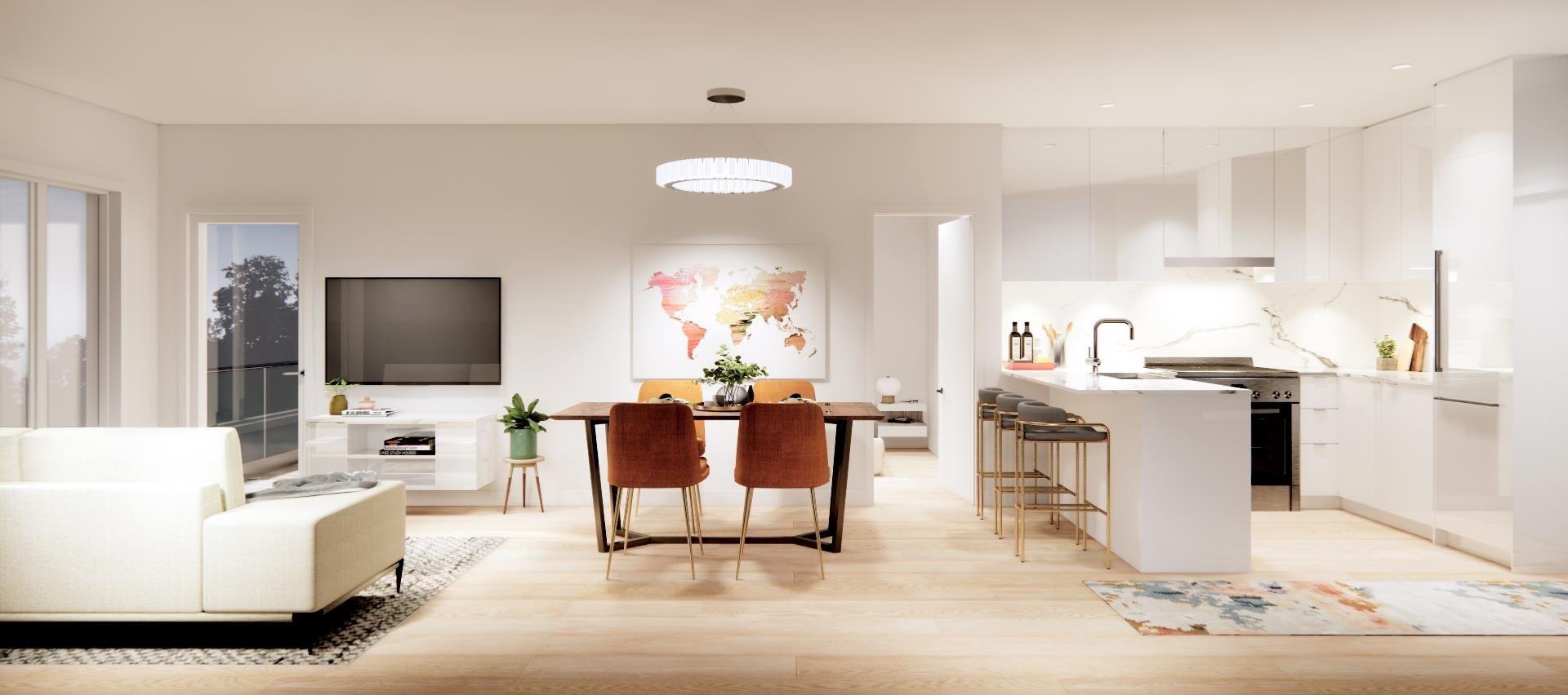 Rendering Of Aura Living Area