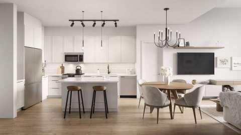 Rendering Of Camden Kitchen & Interiors
