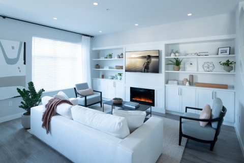 Rendering Of Noble Living Room In Langley