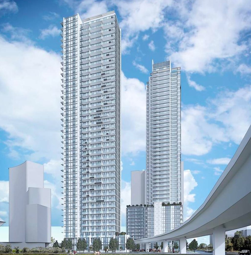 Rendering Of Thind Towers Northwest View