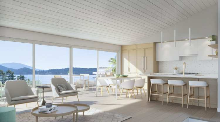 Rendering of Persephone Point Living Area