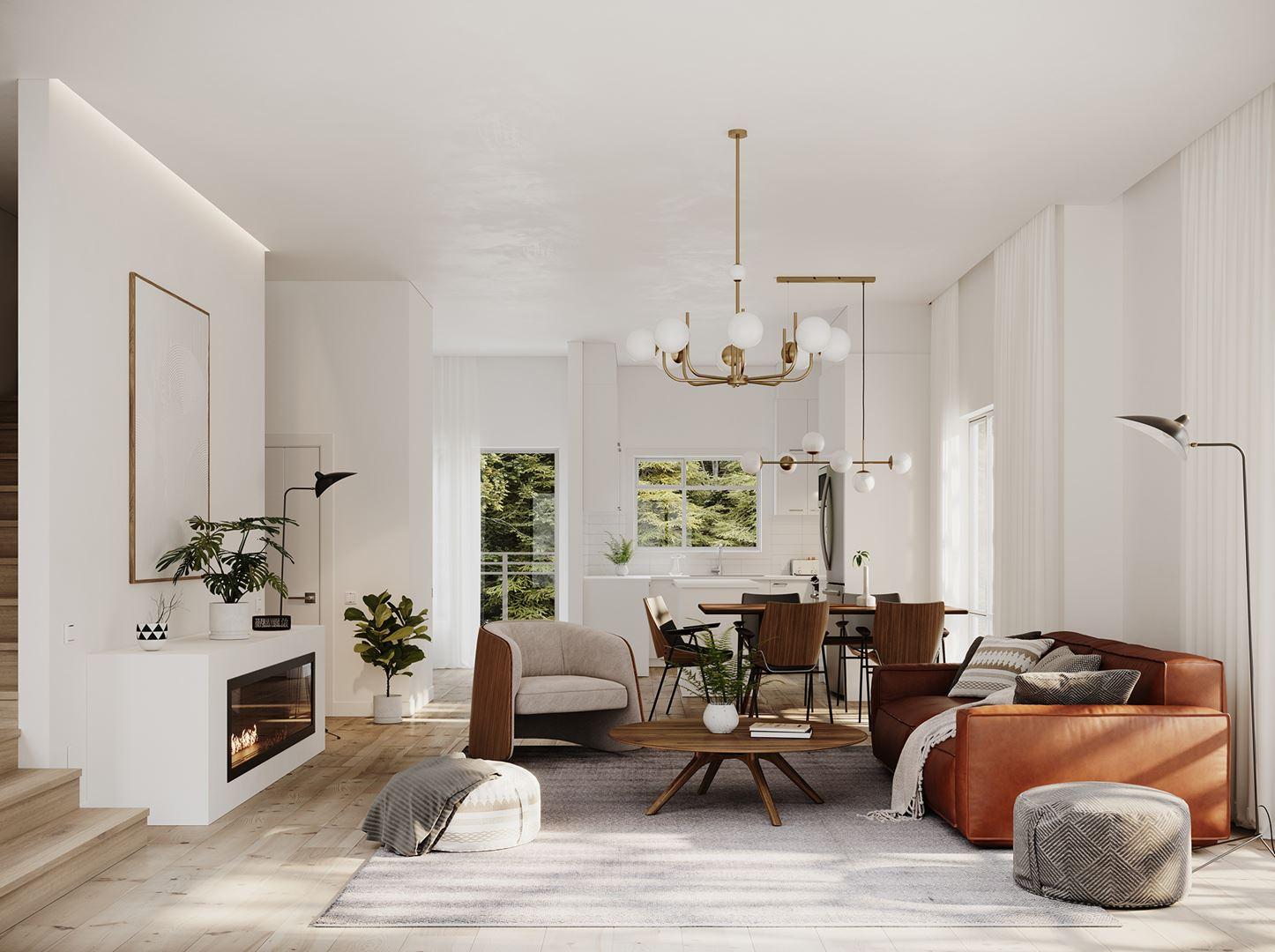 Rendering Of Westwood Living Room