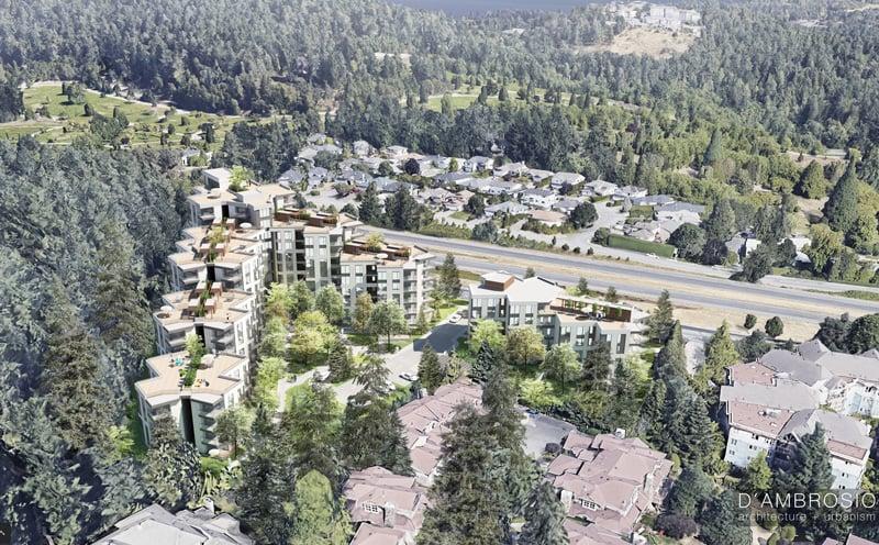 Rendering Of Doral Forest Park Aerial